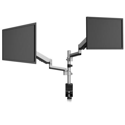 Support de moniteur de réglage du double écran  empilable DM1DTAS-1E