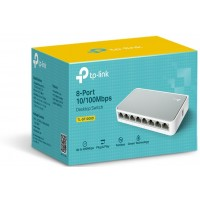 SWITCH TP-LINK 8 PORTS RJ45 10/100M (SF1008D)