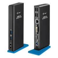 i-tec USB 3.0 Dual Docking Station + USB Charging Port U3HDMIDVIDOCK