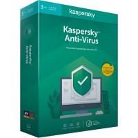 Kaspersky Antivirus 2020 3 Postes / 1 An  KL1171F5CFS-20